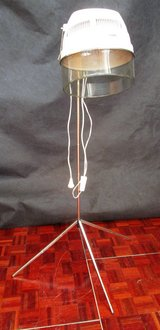 Mid Century Hair Dryer as Decoration Piece  with Chrome Legs in Ramstein, Germany