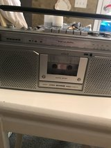 Radio/cassette player in Perry, Georgia