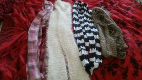 Infinity scarves in San Clemente, California