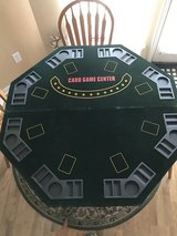Portable Table Top Poker table in Perry, Georgia