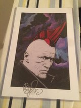 Signed Guardians of the Galaxy print in Ramstein, Germany