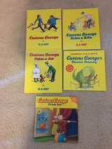 NEW 7 Curious George Assorted books in Camp Lejeune, North Carolina
