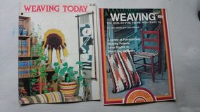 Weaving Books lot of 2 from 1977 in Houston, Texas