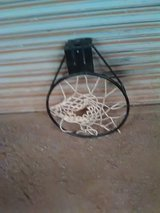 Basketball rim in Alamogordo, New Mexico