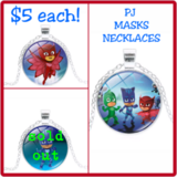 PJ MASKS NECKLACES in Fort Benning, Georgia