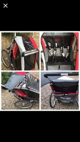 LIKE NEW! HI END Chariot Cougar 2 Seat Bike Trailer in Plainfield, Illinois