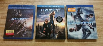 DIVERGENT SERIES ON BLU RAY in Columbus, Georgia