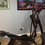 Smooth fitness elliptical in Yorkville, Illinois