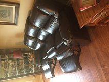 Ashley Leather Sofa Recliner in Cadiz, Kentucky