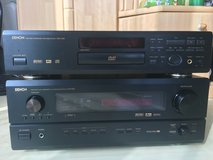 Denon Reciever and DVD player 110V in Wiesbaden, GE