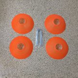 Sports Disc Cones Set of 4 in Kingwood, Texas