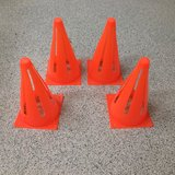 "9"" Sports Cones Set of 4 in Kingwood, Texas"