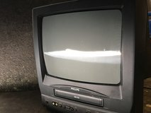 Phillips small tv / vcr combo in Houston, Texas