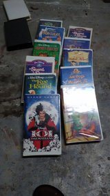 Walt Disney VHS tapes in Perry, Georgia