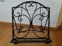 Wrought Iron Countertop Cookbook Holder in bookoo, US