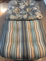 Outdoor chair cushions in Shorewood, Illinois
