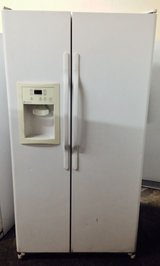 White Double Door Refrigerator in Temecula, California