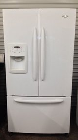 Like New Maytag French Door White Refrigerator in Temecula, California