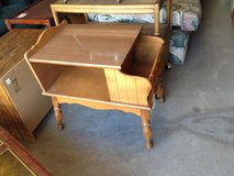 Maple End Table with Magazine Rack & Shelf (1407-473) in Camp Lejeune, North Carolina
