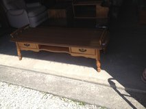 Maple 2-Drawer Coffee Table/ Bench (1407-469) in Camp Lejeune, North Carolina