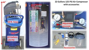 22 Gallons Air Compressor with accessories in San Diego, California