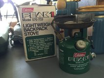 Peak 1Colemen stove lightweight in Camp Lejeune, North Carolina