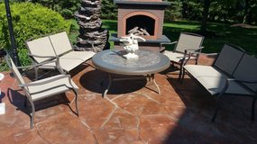 Love seats and chairs patio furniture in Lockport, Illinois