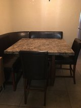 Dining room set marble top in Lawton, Oklahoma