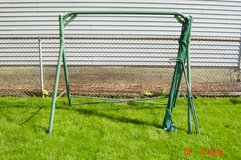 Swing frame and shade cover frame in Lockport, Illinois