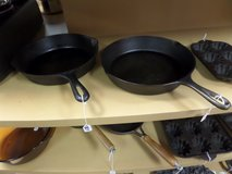 CAST IRON SKILLETS - Lots more in store in Cherry Point, North Carolina