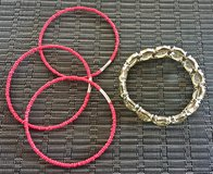 *REDUCED* Bracelets. Set of 4. in Okinawa, Japan