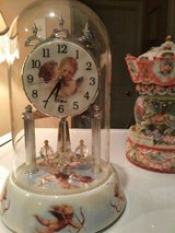 Angel Clock with Glass Dome--Reducing from $20 to $15!! ???????? in Hopkinsville, Kentucky