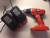 black and decker cordless drill in Okinawa, Japan