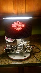 Harley Lamp in Cleveland, Ohio