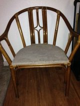 Vintage Bamboo Rattan Barrel Back Chair I will be in Fairfield on 6/16 if you want me to bring t... in Travis AFB, California