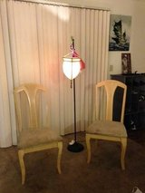 2 maple dining room chairs in Travis AFB, California