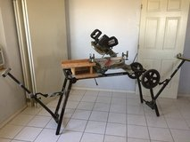 "Porter-Cable 10"" Sliding Compound Miter Saw w/ Portable Stand in Alamogordo, New Mexico"