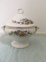 Wonderful antique soup bowl in Ramstein, Germany