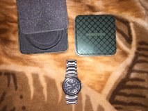 Fossil Watch (Black and Silver) REDUCED!!! in Wiesbaden, GE