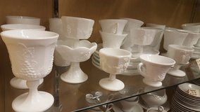 MILK GLASS 42pc SET in Camp Lejeune, North Carolina