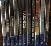 PS4 with games in Cherry Point, North Carolina