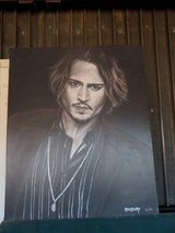 Johnny Depp  Giclee Art Canvas Signed Limited edition 5/195 in Alamogordo, New Mexico