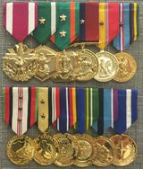 Military Medals Mounted for LE$$ in 29 Palms, California