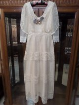 Vintage Victorian Edwardian style Chantilly lace dress in Alamogordo, New Mexico