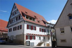 1 BR apartment in renovated medieval house in Stuttgart, GE