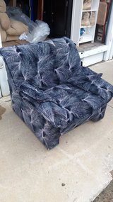 Black multi color chair in Fort Riley, Kansas