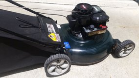 PUSH LAWN MOWER WITH REAR BAG, BRIGGS & STRATTON ENG. SAVE!!! in Cherry Point, North Carolina