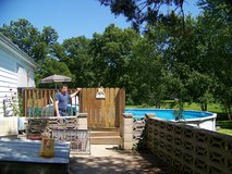 24ft swimming pool in Belleville, Illinois