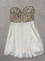 Strapless Homecoming Dress in St. Charles, Illinois