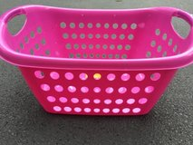 plastic laundry basket in Glendale Heights, Illinois